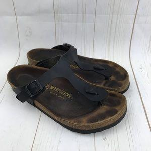 Birkenstock Black Gizeh Sandals Size 39